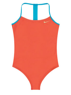 Nike Nike Μαγιό Solid Girl II NESS9629 Πορτοκαλί