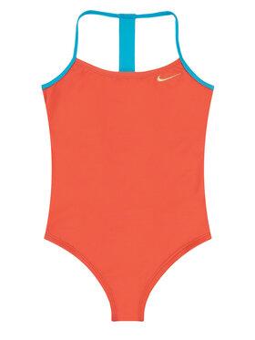 Nike Nike Strój kąpielowy Solid Girl II NESS9629 Pomarańczowy
