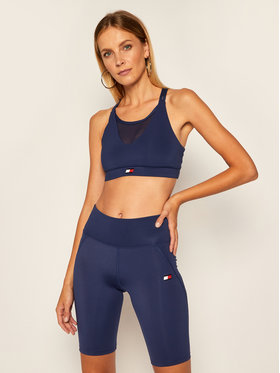 Tommy Sport Tommy Sport Σουτιέν τοπ Low Support S10S100443 Σκούρο μπλε