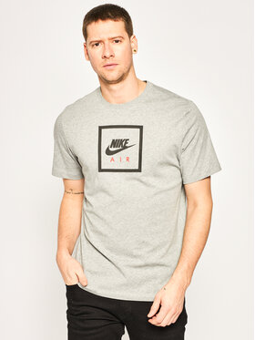 Nike Nike T-Shirt Air BV7639 Szary Standard Fit