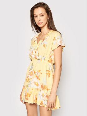 Billabong Billabong Sukienka letnia First Sight W3DR15BIP1 Żółty Regular Fit