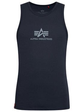 Alpha Industries Alpha Industries Trikó Basic 126566 Sötétkék Regular Fit