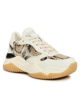 Crime London Crime London Sneakersy Low Top Chunky 25407AA3.68 Beżowy
