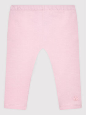United Colors Of Benetton United Colors Of Benetton Legginsy 3MT1I0042 Różowy Slim Fit