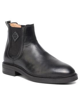 Gant Gant Kotníková obuv s elastickým prvkem Martin 19651277 Černá