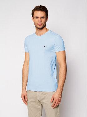 Tommy Hilfiger Tommy Hilfiger T-Shirt MW0MW10800 Niebieski Slim Fit
