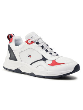 Tommy Hilfiger Sneakersy Fashion Mix Sneaker FM0FM02846 Biela