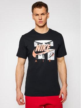 Nike Nike T-Shirt Sportswear Manga Tee DB6151 Černá Standard Fit