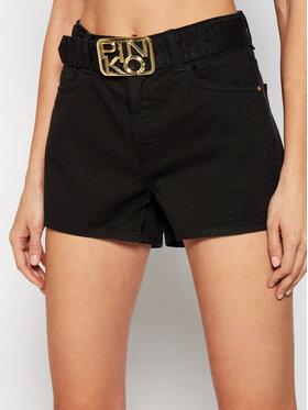 Pinko Pinko Szorty jeansowe Brooklyn PE 21 PDEN 1J10N1 Y652 Czarny Regular Fit