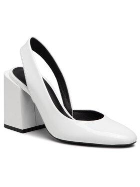 Furla Furla Sandále Block YC51FBK-X70000-01B00-4-401-20-IT-35-00-S Biela