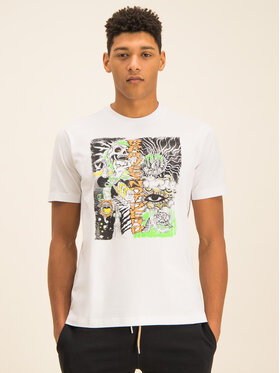 Diesel Diesel T-Shirt T-Just-J13 00SDPA 0091A Biały Regular Fit