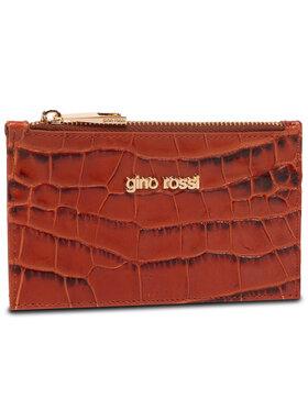 Gino Rossi Gino Rossi Kleine Damen Geldbörse Croco 0003-LIB Braun