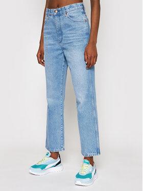 Wrangler Wrangler Jeans Wild West W2H2MC258 Blau Straight Fit