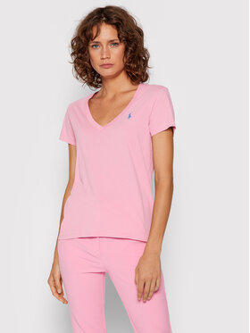 Polo Ralph Lauren Polo Ralph Lauren T-Shirt 211847077002 Rosa Regular Fit
