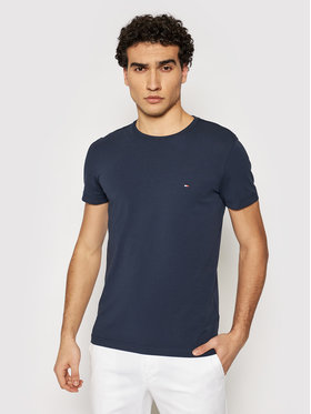 Tommy Hilfiger Tommy Hilfiger T-Shirt 867896625 Granatowy Slim Fit