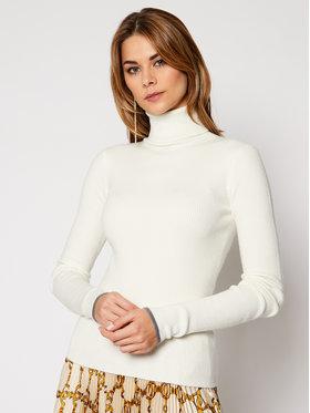Patrizia Pepe Patrizia Pepe Sweter 2M3987/A7S0-W146 Biały Slim Fit