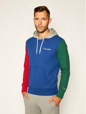 Champion Champion Sweatshirt Contrast Colour Block 214356 Blau Comfort Fit