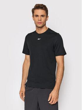 Reebok Reebok Koszulka techniczna Sweatshift Move GN9099 Czarny Slim Fit