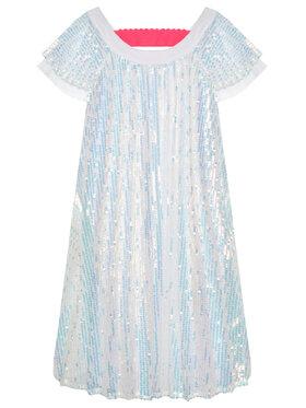 Billieblush Billieblush Елегантна рокля U12667 Бял Regular Fit