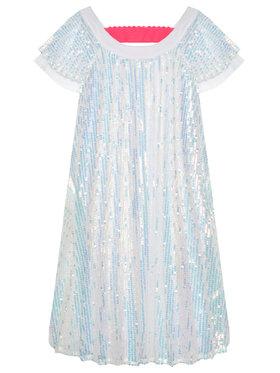 Billieblush Billieblush Sukienka elegancka U12667 Biały Regular Fit