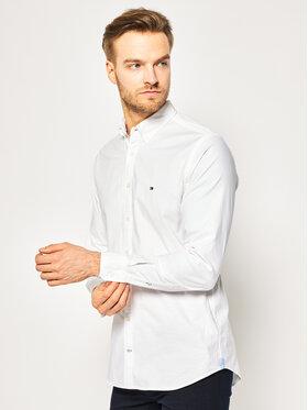 Tommy Hilfiger Tommy Hilfiger Koszula MW0MW03745 Biały Slim Fit