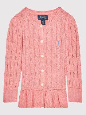 Polo Ralph Lauren Polo Ralph Lauren Kardigan 312737911028 Różowy Regular Fit
