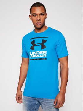 Under Armour Under Armour Póló Ua Gl Foundation 1326849 Kék Loose Fit
