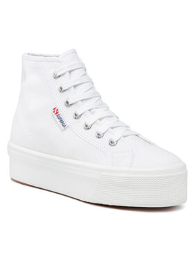 Superga Superga Sneakersy 2705 Hi Top S3111MW Biały
