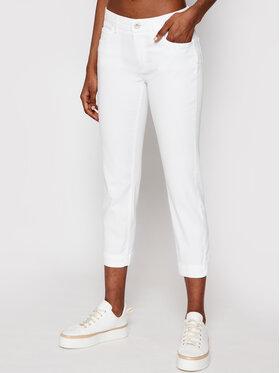 Marc O'Polo Marc O'Polo Spodnie materiałowe 104 0099 11005 Biały Slim Fit