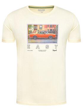 Jack&Jones Jack&Jones T-shirt Allround 12185706 Jaune Regular Fit