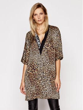 Just Cavalli Just Cavalli Kleid für den Alltag S02CT1057 Braun Relaxed Fit