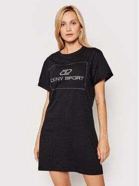 DKNY Sport DKNY Sport Hétköznapi ruha DP1D4458 Fekete Regular Fit
