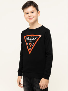 Guess Guess Džemperis Junior Core L73Q09 K5WK0 Juoda Regular Fit