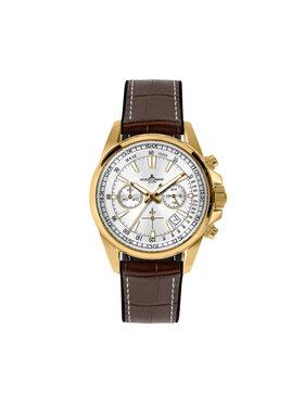 Jacques Lemans Jacques Lemans Zegarek 1-2117F Brązowy