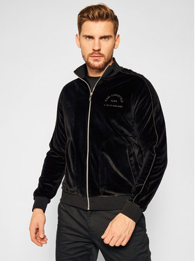 KARL LAGERFELD KARL LAGERFELD Mikina Sweat Zip 705029 502912 Čierna Regular Fit