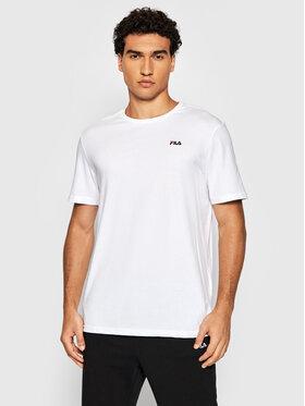 Fila Fila T-Shirt Edgar 689111 Bílá Regular Fit