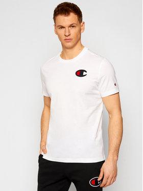 Champion Champion T-shirt Crewneck 214195 Blanc Comfort Fit