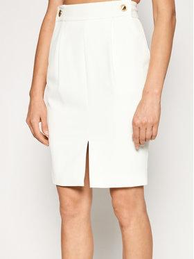 Marciano Guess Marciano Guess Pouzdrová sukně 1GG705 9529Z Bílá Slim Fit