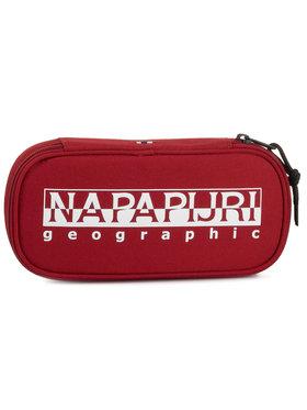 Napapijri Napapijri Penál Happy Pen Organizer N0YID4 Červená