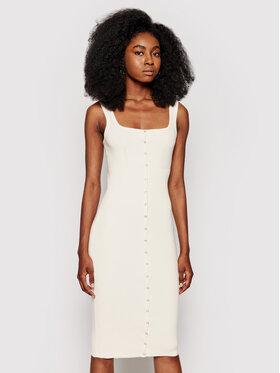 Guess Guess Sukienka letnia Lana W1YK08 R2BF4 Beżowy Slim Fit