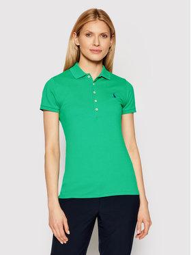 Polo Ralph Lauren Polo Ralph Lauren Polo Ssl 211505654151 Zielony Slim Fit
