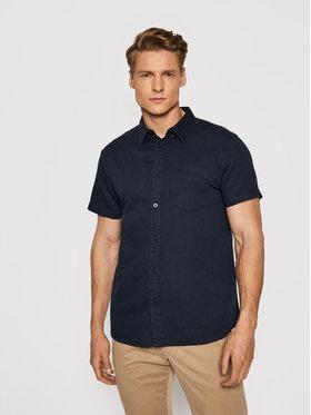Wrangler Wrangler Marškiniai Ss 1 Pkt W5J7LO114 Tamsiai mėlyna Regular Fit