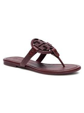 Tory Burch Tory Burch Japanke Metal Miller Embellished Sandal 79535 Tamnocrvena