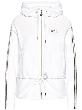 EA7 Emporio Armani EA7 Emporio Armani Mikina 3KTM43 TJ6PZ 1100 Bílá Regular Fit