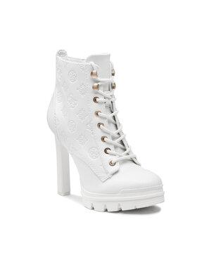 Guess Guess Čizme Jaclin2 FL7JC2 ELE10 Bijela