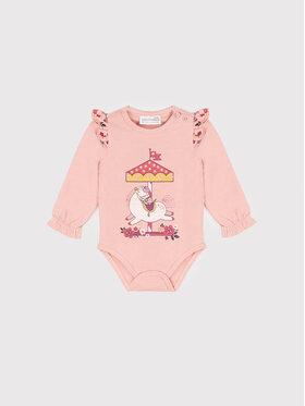 Coccodrillo Coccodrillo Body dziecięce ZC1112102SUS Różowy