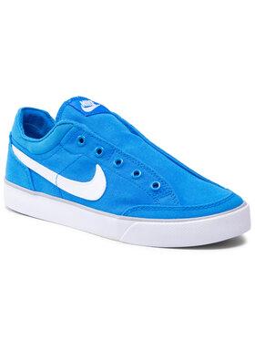 Nike Nike Topánky Capri Slip Txt (Gs) 644556 402 Modrá