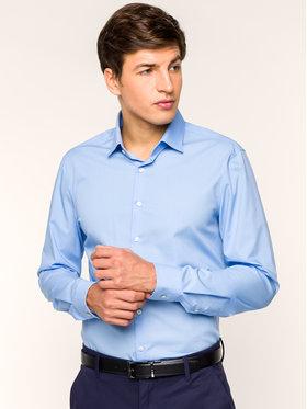 Calvin Klein Calvin Klein Риза K10K103025455 Син Slim Fit