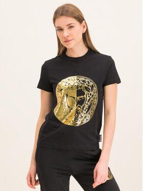 Versace Jeans Couture Versace Jeans Couture T-Shirt B2HVA7G0 Czarny Regular Fit