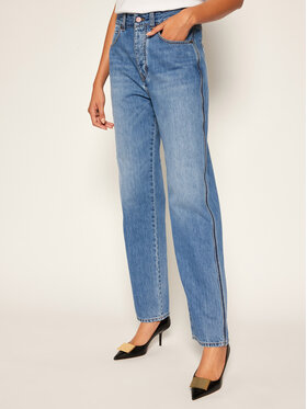 Victoria Victoria Beckham Victoria Victoria Beckham Jeansy Relaxed Fit 2320DJE001376A Granatowy Relaxed Fit